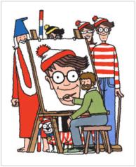 Martin Handford, Wally e seus amigos!