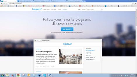 Bloglovin inicio