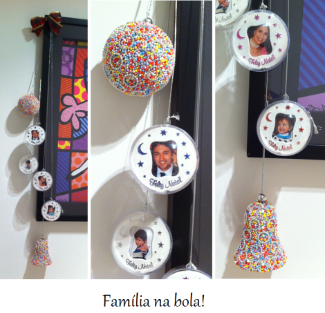 natal - bolas familia