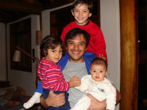 Janjão, Cacá, Maricota e seu super pai Eivor